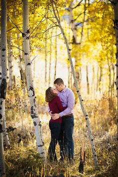 Our engagement shoot! Gillespie Photography @ Meyer Ranch Park Engagement in Conifer, CO