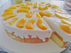 Geheime Rezepte: Pfirsich - Joghurt Torte mit Vanillehauch (leichte Sommertorte…