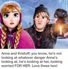 Kristoff and anna- the only disney couple that could beat rapunzel and eugene on my favorites list
