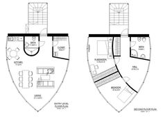 this modern design floor plan is 1200 sq ft and has 2 bedrooms and has bathrooms - Micro House Plans
