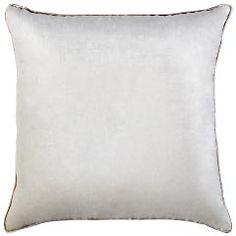Velvet Pillow - Ivory