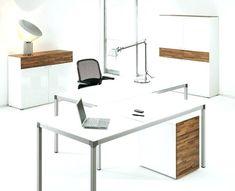kenamp: Home office desk designs Modern Style Architecture Art Designs 17 White Desk Designs For Your Elegant Home Office Home Office White Desk, Office Desk For Sale, Contemporary Office Desk, Modern Home Office Desk, Office Desks, White Desk Design, Office Table Design, Office Furniture Design, Sofa Furniture