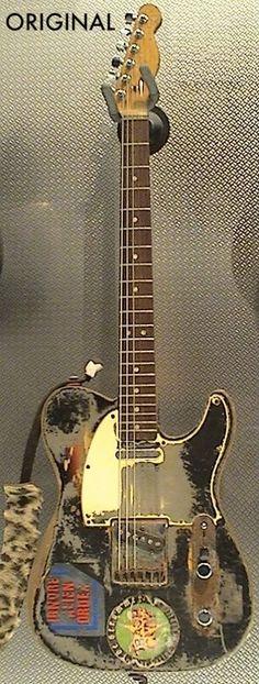 Joe Strummer's guitar