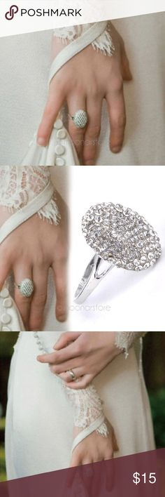 Twilight Bella Ring Fashion design, 100% brand new Rhinestone, bling-bling,  The best choice for parties, wedding, engagement  Twilight Bella Ring Alike Alloy Jewelry Rings
