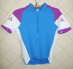 Maillot cycliste Cannondale Vintage Equipe Pro cycling Jersey Large  USA #Cannondale Pro Cycling, Sport Wear, Mtb, Polo Shirt, Polo Ralph Lauren, Vintage, Sports, Mens Tops, How To Wear