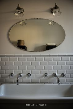 Old Mirror / bathroom