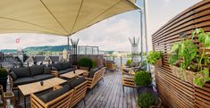 Rooftop Terraces: Cafes and Restaurants Zurich