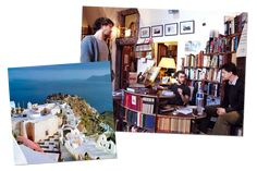 In 2002, a couple of college juniors vacationing on the Greek island had a wild, wine-fueled idea: let's open a bookstore! Thus began the saga of Atlantis Books.