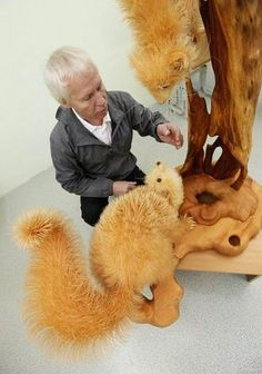 Amazing wood art........just pieces!!