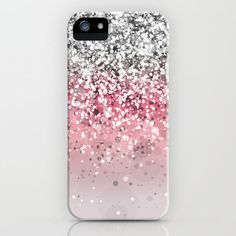 Pink. Pink Glitter. Pink Glitter Phone Case. iPhone Case. Pink Glitter Accessories. Pretty in Pink. Getting me one of these!