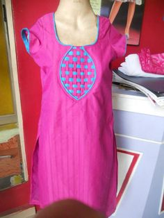 How to make different types of kurthi neck patterns | Easy Craft Ideas