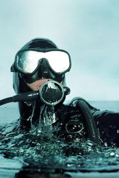 Overcome the Fear of Water in Your Mask - Scuba Diving