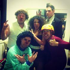 "@tessawaterscomedy's photo: ""Team Idiot Represent!!! Duck Duck Duck Laksa!! #mfringe @brocolibrothers @trentbirdmann @melbfringe #womansontour @dierotenpunkte"""