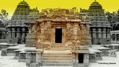 Somanathapura. This town boasts of an architectural marvel. It is the famous Chennakeshava temple in Hoysalan Architecture.