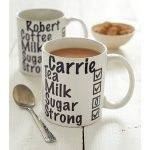Personalised Milk And Two Sugars Mug | Gifts For Colleagues