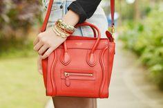 a Red Celine bag! nice! #itscamilleco.com2013032003