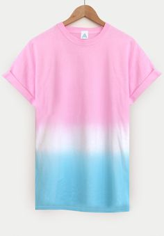 AND.ALSO IcePop Dip Dye Tee