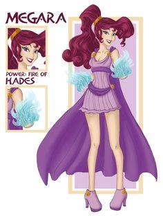 Disney superheroines: Megara by WeleScarlett on DeviantArt Disney Fan Art, Disney Love, Disney Magic, Disney Pixar, Disney Characters, Disney Princess Warriors, Warrior Princess, Disney Hercules, Megara Disney