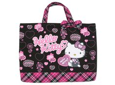 Hello Kitty School Kids Tote Bag Logo SANRIO