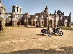 Brilliant ride amazing destination - Shettihalli church #enfield #classic500 #bullet #shettihallichurch