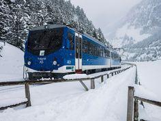 Una subida con más de 1.000 metros de desnivel en el tren cremallera de Nuria - VIAJESTIC