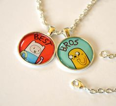 Adventure Time Finn and Jake / Fionna and by CuteAndCoolDesigns, $14.95