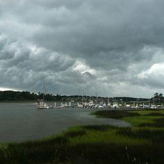 Storm approaching in Little River,SC