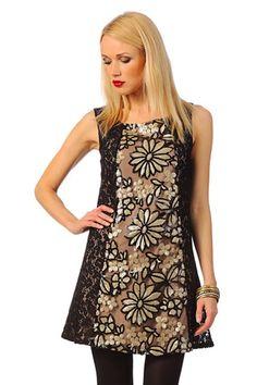 Trendencias - 10 vestidos de fiesta con brillos para resplandecer como una estrella