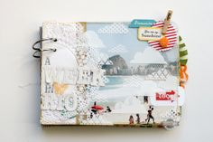 A Week in Rio Mini Album {Studio Calico August kit} - Scrapbook.com