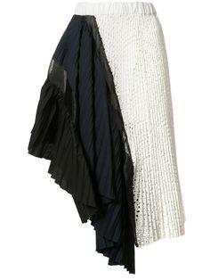 Sacai ドレープ スカート