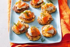 Summer's nearly here and it's party time. Impress your friends with these savoury salmon bites!
