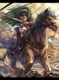 Levi Attack on titan by Toty Kida #1595548 | i.ntere.st