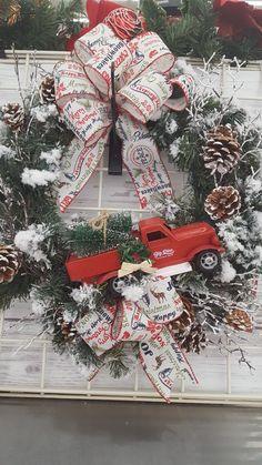 Christmas wreath by Rhonda