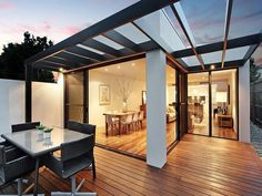 Outdoor living design with deck from a real Australian home - Outdoor Living photo 1224850