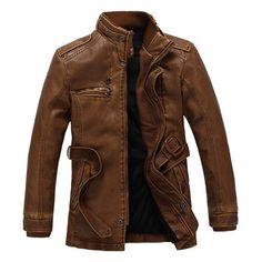 Exclusive Vigor Winter Leather Jacket