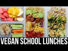 The quinoa burrito bowls are so good!!! Vegan Lunch Ideas for School & Work ♡ Easy & Healthy ♡ Vegan Recipes - YouTube