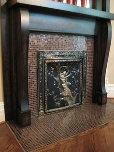 Town & Country's TC42 (42 inch) fireplace is a commanding presence ...