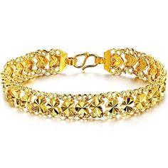 Fashion 2014 Vintage Jewelry 18K Gold Plated Women Bracelet Chain Top Quality Classic Design Good Gift