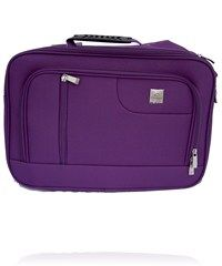 Purple travel bag - speaks fun, shows style, suggests it's time for an adventure!