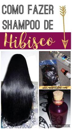"""Como fazer o famoso shampoo de hibisco caseiro para estimular o crescimento do cabelo   Dizem que há milhares de anos as indianas chamam o hibisco de """"flor de cuidado do cabelo"""", então você já pode imaginar que se trata de um ingrediente importante para manter os fios bonitos e saudáveis."""