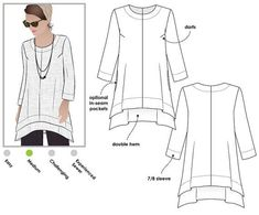 From Boho to Chic: 12 Timeless Tunic Sewing Patterns