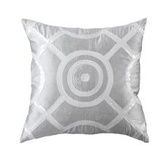 Partier Silver Medium Cushion 50x50cm - Bandhini Homewear Design