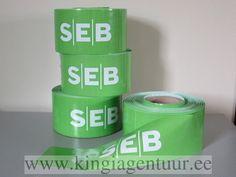 Warning foil with logo: http://www.kingiagentuur.ee/en/safety_products/3330/Piirdelint-STDA00006.html