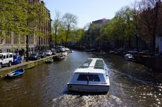 Canal Tours by day #boatlife #amsterdam
