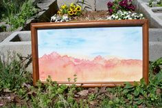 Original Watercolor Painting on SilkFramed by NaturallyThruMyEyes, $200.00