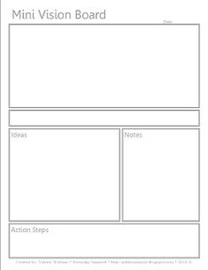 1000 images about vision board ideas on pinterest seize for Vision board templates free