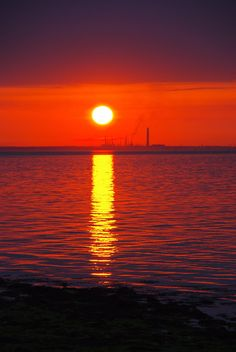 Fawley from Isle of Wight 2 by *leondavey on deviantART