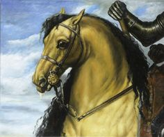old horse art | 1010 | The Horse of Charles the First after Anthony van Dyck,1599-1641 ...