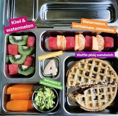 Healthy Lunches For Kids, Lunch Snacks, Lunch Recipes, Baby Food Recipes, Kids Meals, Healthy Snacks, Bag Lunches, Easy Meals, Work Lunches