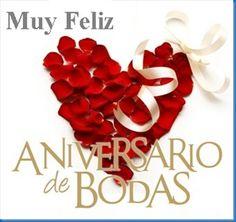 Feliz Aniversario de Bodas Puri y Cosme.